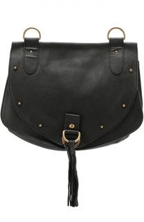 Кожаная сумка Collins medium See by Chloé