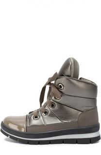Стеганые текстильные ботинки Jog Dog