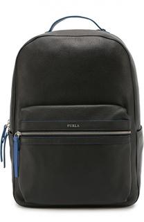 Кожаный рюкзак Fenice с контрастной отделкой Furla