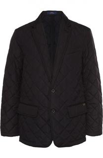 Утепленная стеганая куртка с отложным воротником Polo Ralph Lauren