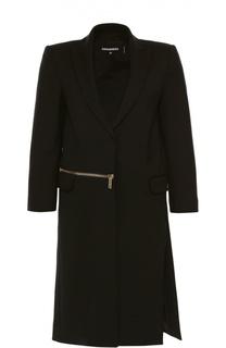 Пальто прямого кроя с укороченным рукавом Dsquared2