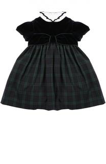 Платье со съемным воротником Caf