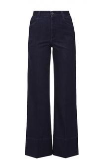 Укороченные расклешенные джинсы Stella McCartney