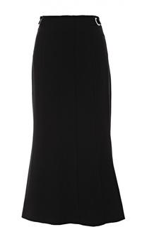 Расклешенная юбка-миди со складками Proenza Schouler