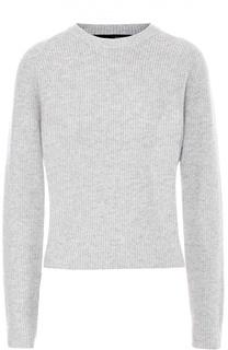 Пуловер фактурной вязки с круглым вырезом Proenza Schouler
