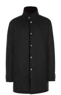 Кашемировое пальто с подкладом из натурального меха Andrea Campagna