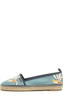 Текстильные эспадрильи с принтом Fendi
