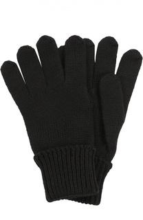 Вязаные перчатки из шерсти Il Trenino