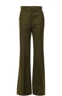 Расклешенные брюки со стрелками и завышенной талией Rochas
