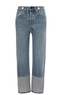 Укороченные джинсы прямого кроя с завышенной талией Rag&Bone Rag&Bone