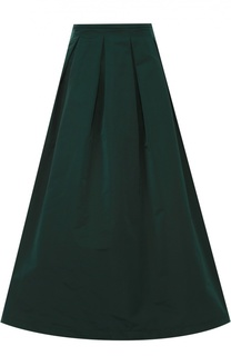 Пышная юбка-миди с защипами Rochas