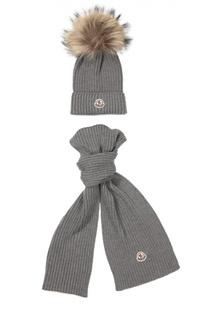 Комплект из шапки и шарфа Moncler Enfant
