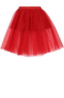 Пышная многослойная юбка Monnalisa