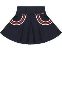 Расклешенная юбка с контрастной отделкой Jean Paul Gaultier