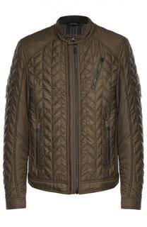 Утепленная стеганая куртка на молнии Belstaff