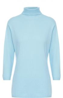 Кашемировый свитер с высоким воротником и укороченным рукавом Escada