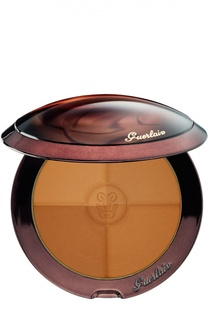 Оттеночная пудра для лица Terracotta 4 Seasons, оттенок Natural - Brunettes Guerlain