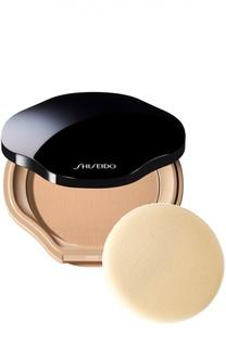 Компактная пудра с полупрозрачной текстурой, оттенок B40 Shiseido