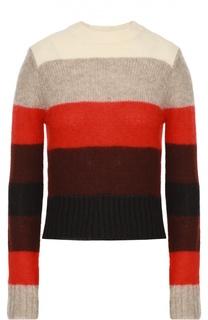 Укороченный пуловер в контрастную полоску Rag&Bone Rag&Bone