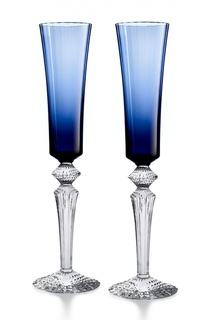 Набор из 2-х фужеров для шампанского Midnight Baccarat