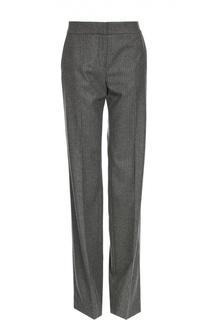 Шерстяные брюки в полоску со стрелками Tom Ford