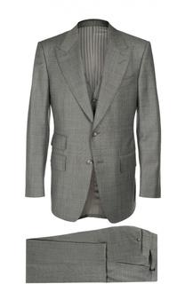 Шерстяной костюм тройка Tom Ford