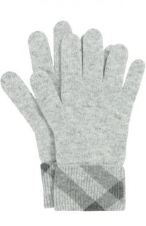 Кашемировые перчатки с манжетами Burberry