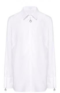 Блуза прямого кроя с декоративной отделкой Escada Sport