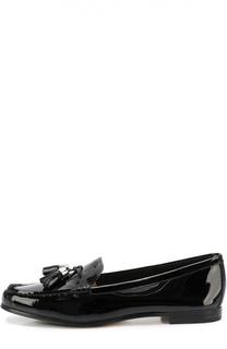 Лаковые лоферы Callahan с кисточками Michael Michael Kors