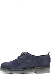 Замшевые ботинки на наборной подошве Baldan