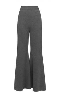 Шерстяные расклешенные брюки с карманами Stella McCartney