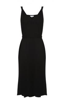 Платье асимметричного кроя с V-образным вырезом Escada Sport