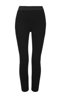 Укороченные брюки-скинни с широким поясом Dolce & Gabbana