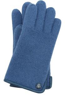 Вязаные перчатки из шерсти Roeckl