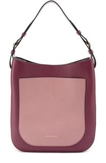 Двухцветная сумка Elmstone Burberry