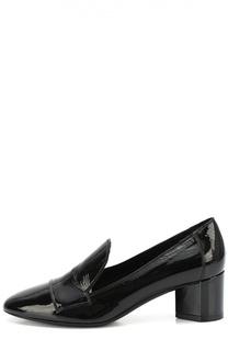 Кожаные туфли на устойчивом каблуке Pierre Hardy