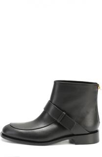 Кожаные ботинки с ремешком Marni