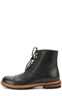 Высокие кожаные ботинки Siracusa Dolce & Gabbana