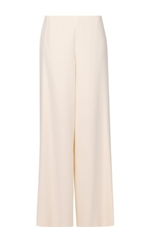 Шелковые широкие брюки прямого кроя Ralph Lauren