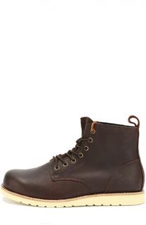 Кожаные ботинки Kazan на шнуровке Affex