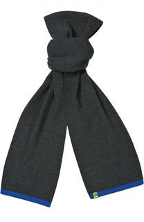 Вязаный шарф из шерсти Giorgio Armani