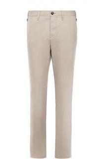 Хлопковые брюки чинос Burberry Brit