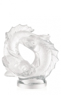 Статуэтка Double Fish medium Lalique