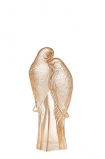 Статуэтка 2 Parakeets Lalique