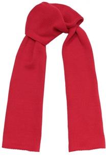 Вязаный шарф из шерсти Il Trenino