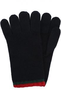 Перчатки из шерсти Gucci