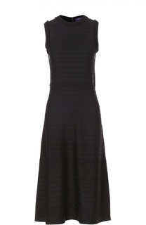 Вязаное приталенное платье без рукавов Ralph Lauren