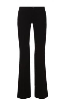 Укороченные расклешенные джинсы с карманами J Brand