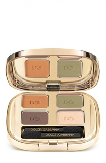 Тени для век Smooth Eye Colour Quad 120 тон (mediterraneo) Dolce & Gabbana