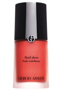 Fluid Sheer флюид для сияния кожи оттенок 6 Giorgio Armani
